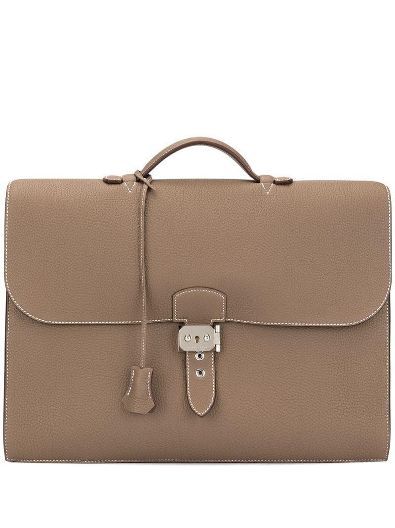 Hermès pre owned Sac A Depeche 38 Business Hand Bag | Bags