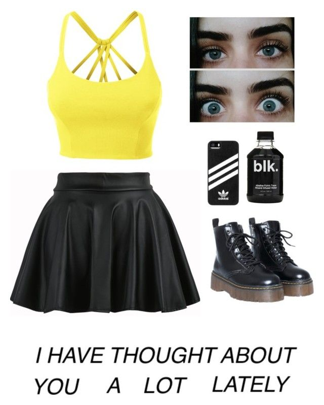 """""""Y O U"""" by amazingxemma ❤ liked on Polyvore featuring LE3NO and adidas"""