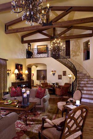 Awesome Mediterranean House Interior Design