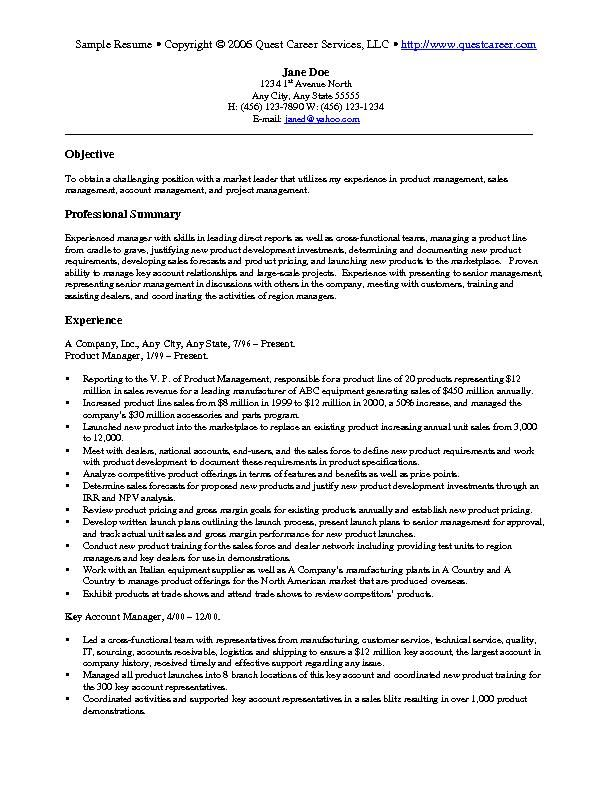 Sales Position Resume Keywords Specialists Opinion Education