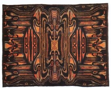 Tapijt Den Bosch : Art deco tapijt jacob van den bosch carpet art deco