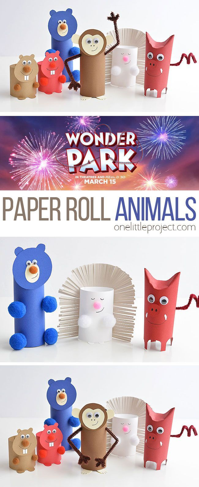 Photo of How to Make Paper Roll Animals – #Animals #forkidstomake #Paper #roll