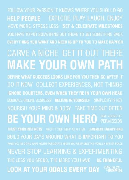 Be Your Own Hero. #Inspiration