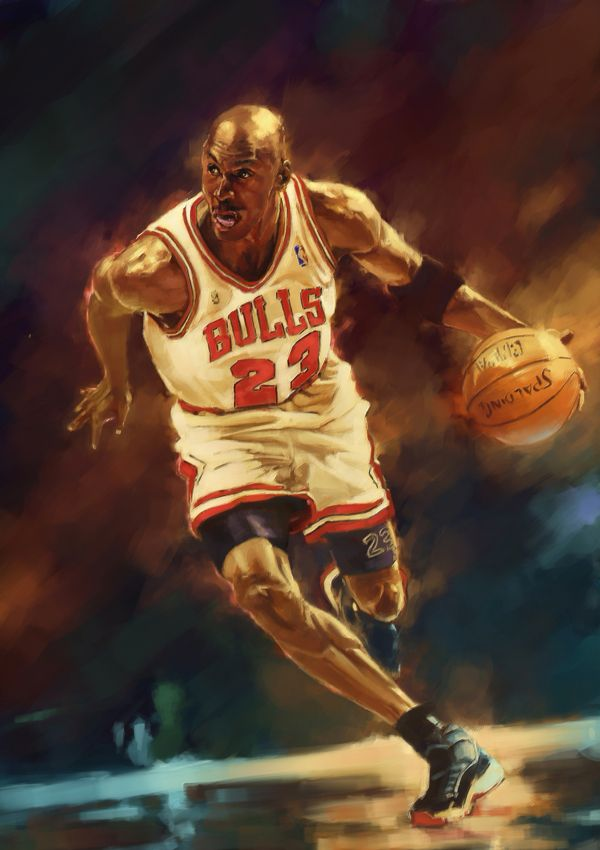 de37d9c911a7 Michael Jordan by Chen Jit Hong in NBA  Stunning Digital Art