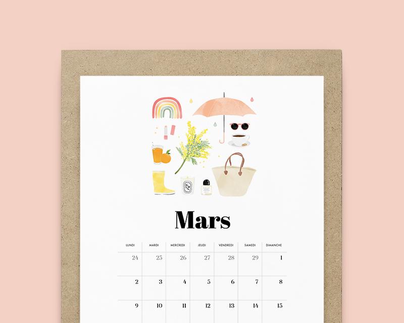Calendrier Mars 2020 Claire La Paillette Blog Lifestyle D Une Illustratrice A Rennes En 2020 Calendrier Calendrier A Imprimer Fond D Ecran Ordinateur