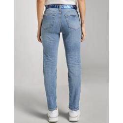 Photo of Tom Tailor Denim Women's Liva Slim Boyfriend Jeans, blue, plain, size 32 Tom TailorTom Tailor