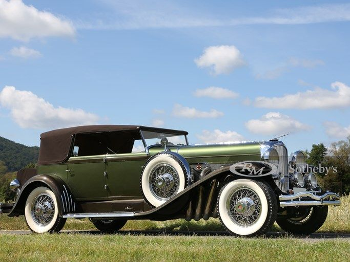 1929 Duesenberg Model SJ Convertible Sedan by Murphy