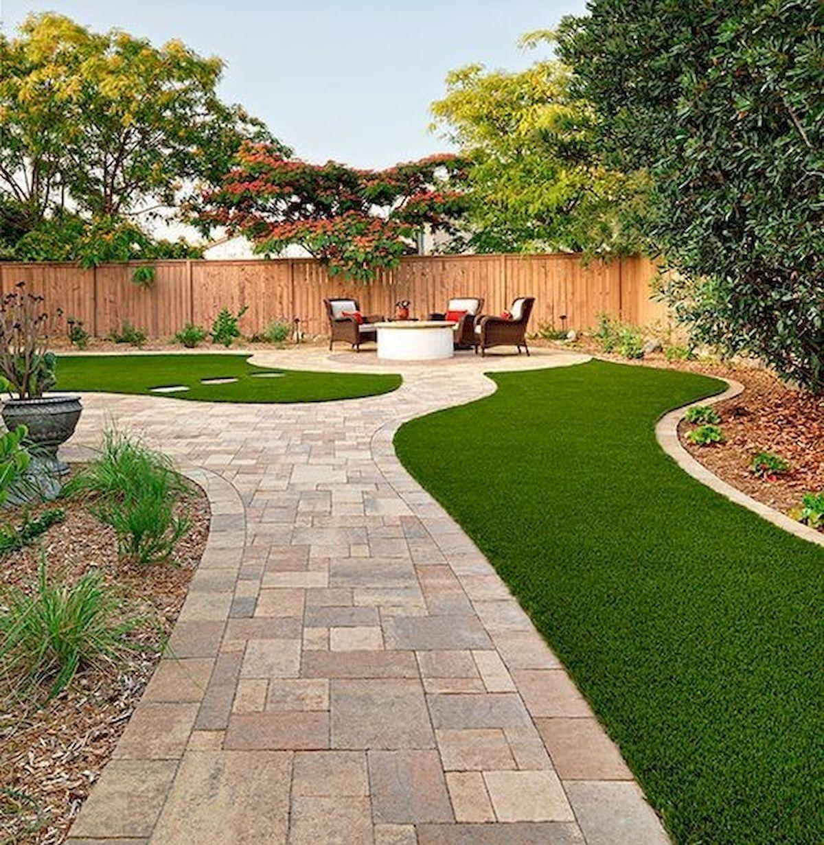 Nice 60 Beautiful Backyard Garden Design Ideas And Remodel Https Coachdecor Com 60 Beautiful Backyard Garden Pavers Backyard Backyard Garden Backyard Remodel
