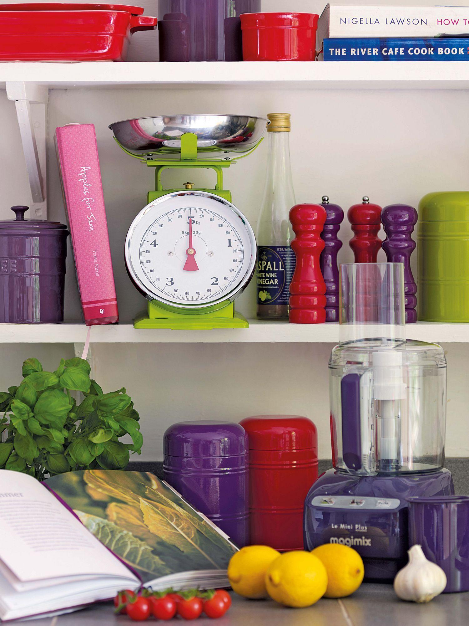 Colorful Kitchen Supplies: Linea Bright Kitchen Accessories