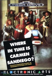 Emularoms: Where in Time is Carmen Sandiego? (BR) [ SMD ]