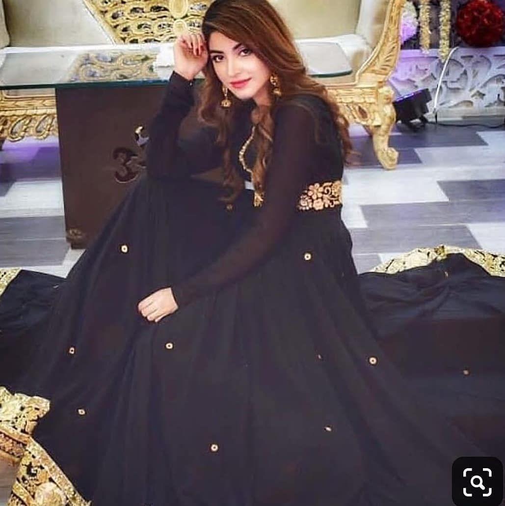 Elegant Kinzahashmi Dailyinfotainment Follow Dail Pakistani Fashion Party Wear Black Pakistani Dress Pakistani Dresses [ 1030 x 1029 Pixel ]
