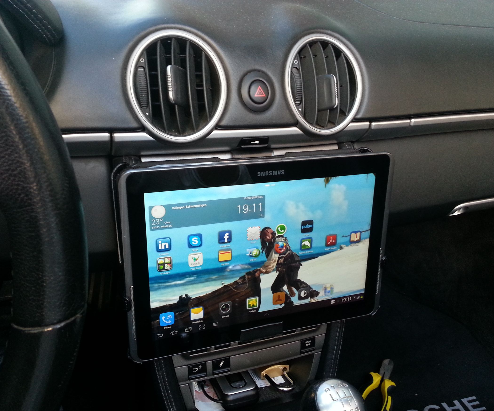 Tablet Ipad Removeable Car Mount For 1 In 5 Minutes Ipad Car