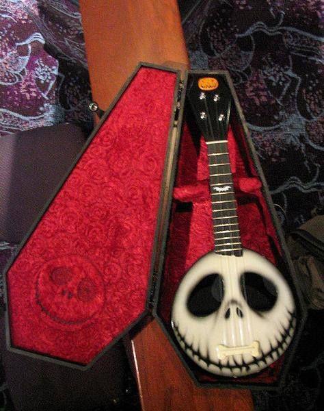 Jack Skeleton Guitar