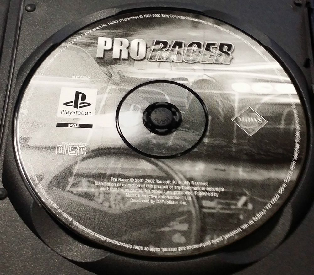Pro Racer Playstation 1 SLES-03962 PS1  FREE Postage