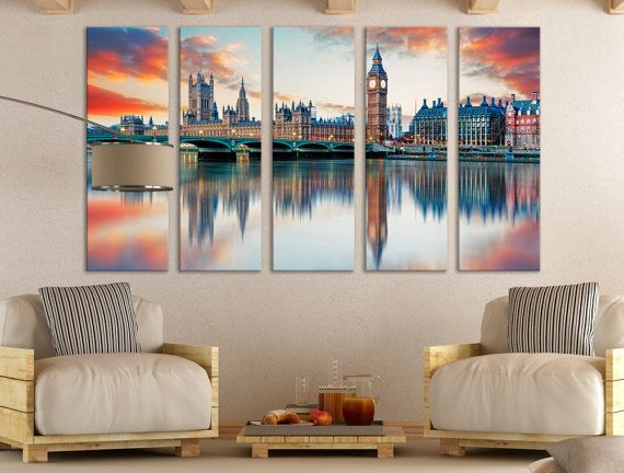 Explore Canvas Wall Decor Wall Art Decor and more! & Westminster Wall Art London Wall Art Wall Art Canvas Print ...