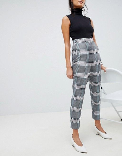 ASOS DESIGN dream check trouser Really NObPm0