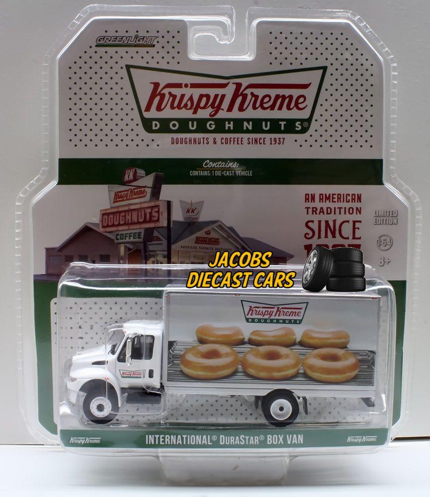 1 64 greenlight hd trucks series 4 krispy kreme international durastar box van