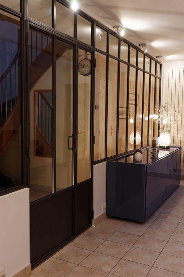Nos Realisations De Verrieres D Interieur Atelier D Artiste Verriere Atelier Cuisine Ouverte Verriere Verriere Atelier Artiste