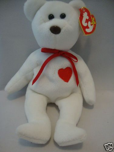 54785a64c2e RARE With Tags Ty VALENTINO Beanie Baby 4th Gen. Tag 3rd Tush NO ...