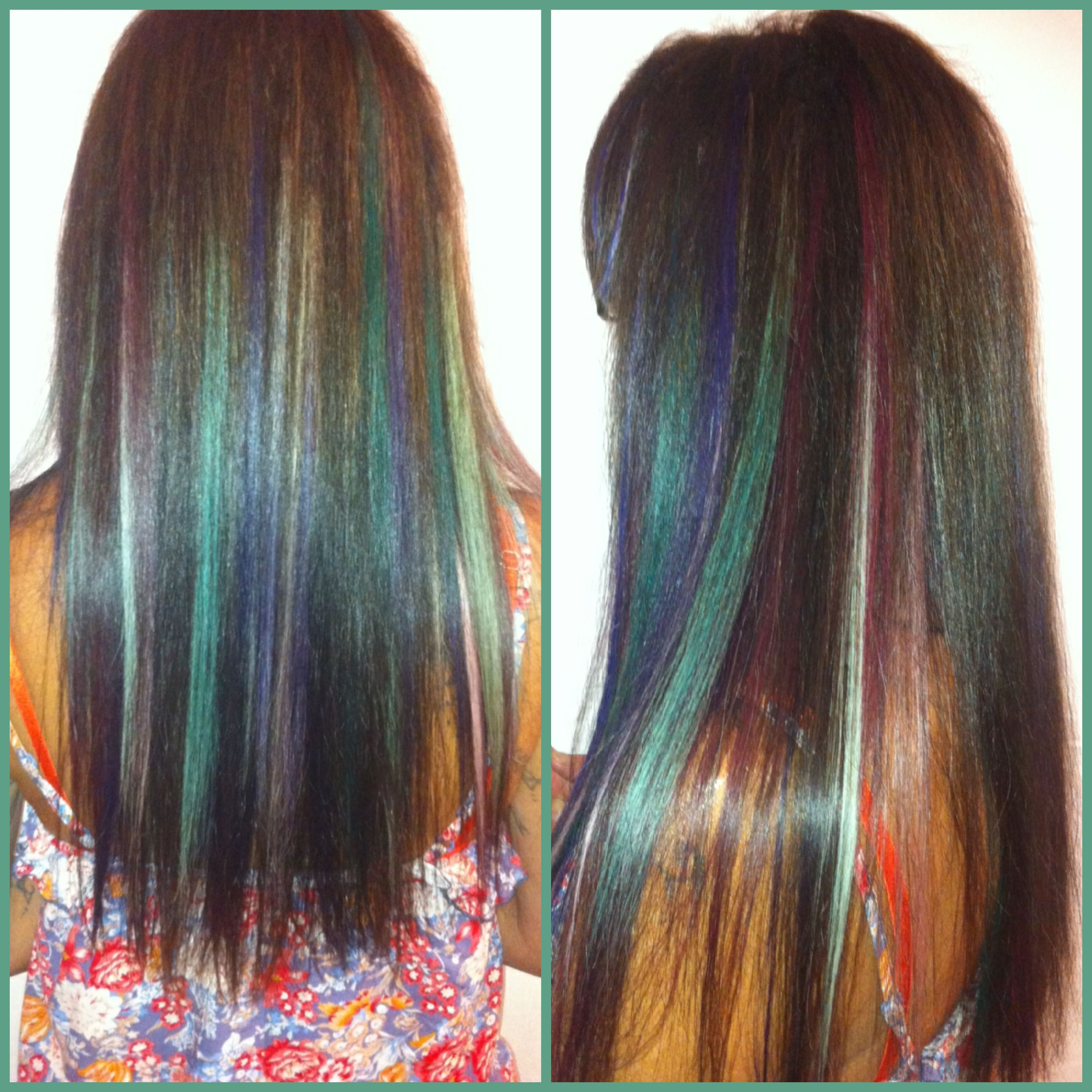 Vorher Nachher Haarverdichtung mit greatlengths Extensions