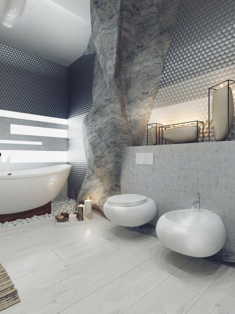 Luxus Badezimmer Bad Einrichtung Azum Thema Höhle