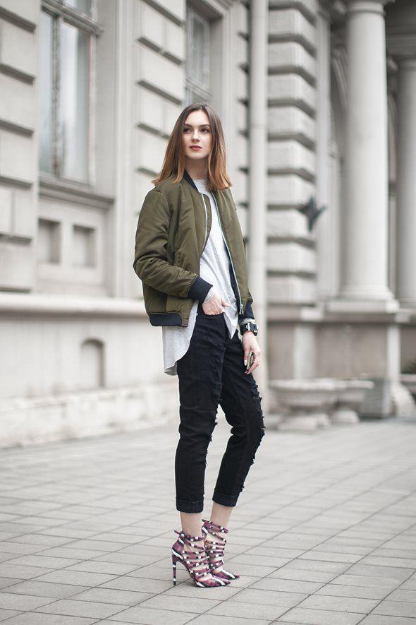 スキニージーンズを使ったこの春の着こなし 4パターン   FashionLovers.biz
