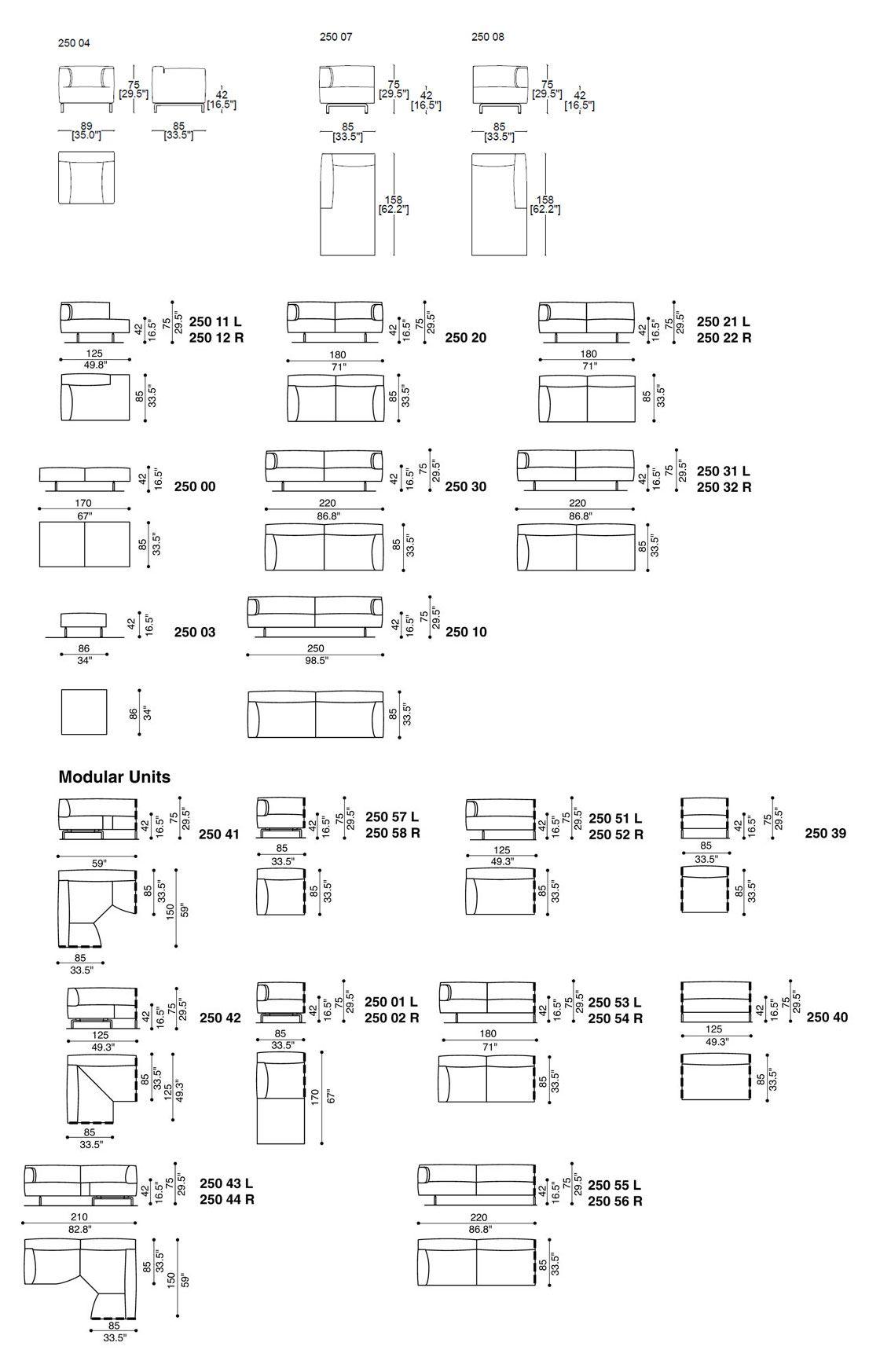 Cassina 250 Met | Amfi, Elektrik