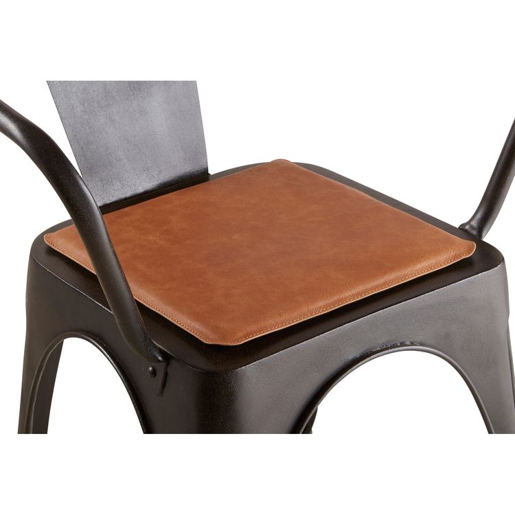 Leather Chair Pads Antique French Dining Chairs Uk Bobo Magnetic Pad Seating Poufs Benches Coussins De Chaise Ferme Moderne Repose