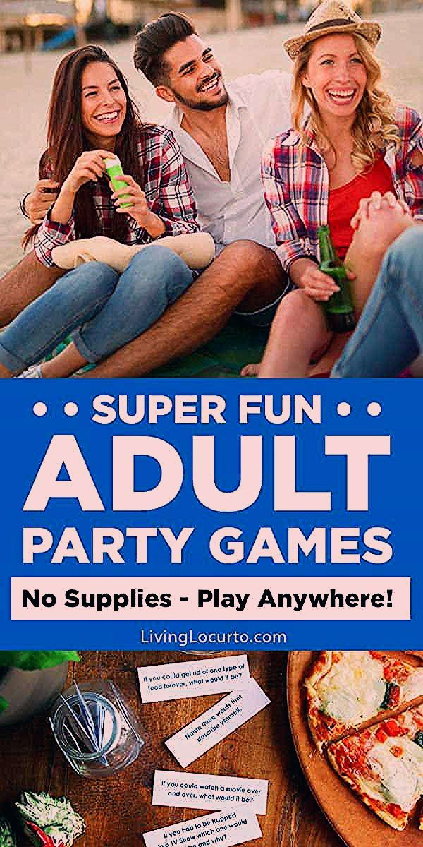 Photo of Fun Adult Games to Play at a Party