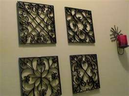 Recycled Crafts – Faux Tin Tiles from Disposable Cookie Sheets ...