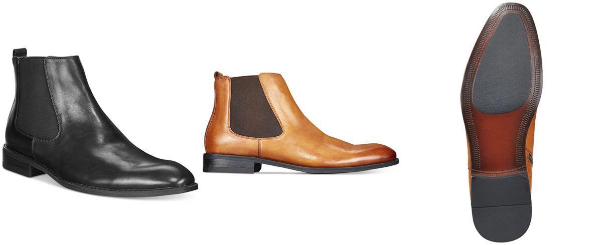 Alfani Men S Caleb Chelsea Boots Only At Macy S Dress Shoes