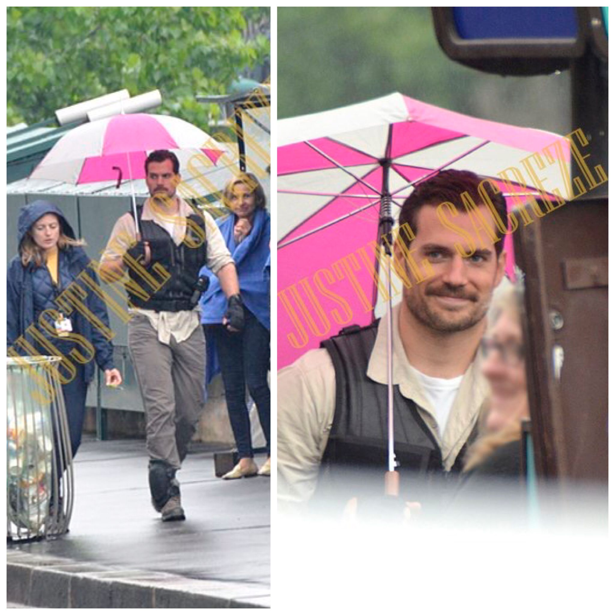 First look at Henry Cavill on today's set of #MissionImpossible6. LATEST on the blog.  http://bit.ly/2qNSCJN #Filming #Paris #SetLife #HenryCavill @Nokinstars (thank you).