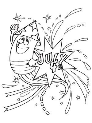 Printable Summer Coloring Pages Summer July crafts and Craft