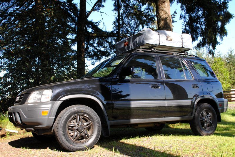 Tent Top It Get Out Of The Dirt Roof Top Tent From Top Tent Roof Top Tent Top Tents Honda Crv