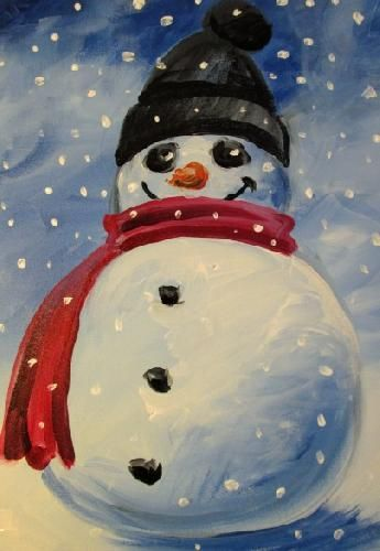 120 Winter Paintings Ideas Paint Nite Holiday Painting Winter Painting