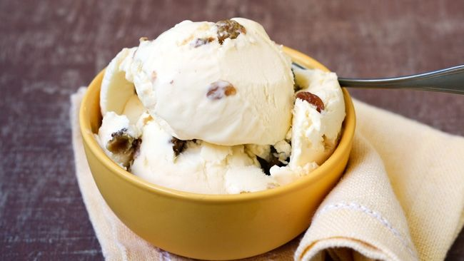 This creamy, delicious adults-only rum ice cream is the perfect indulgence as the weather heats up.
