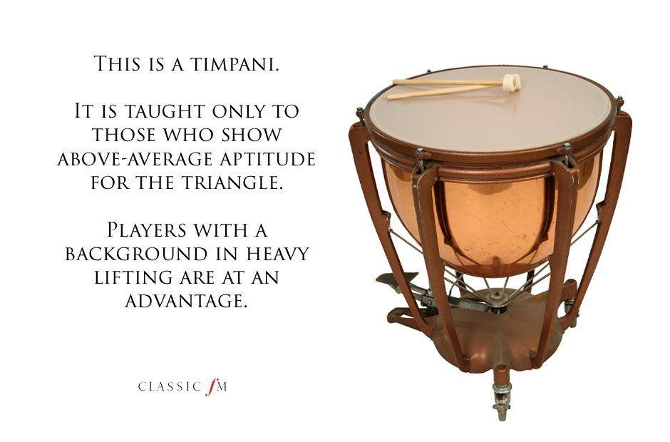 Timpani Music Jokes Musicals Musical Art
