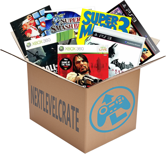 Monthly Video Games Subscription Games box, Subscription