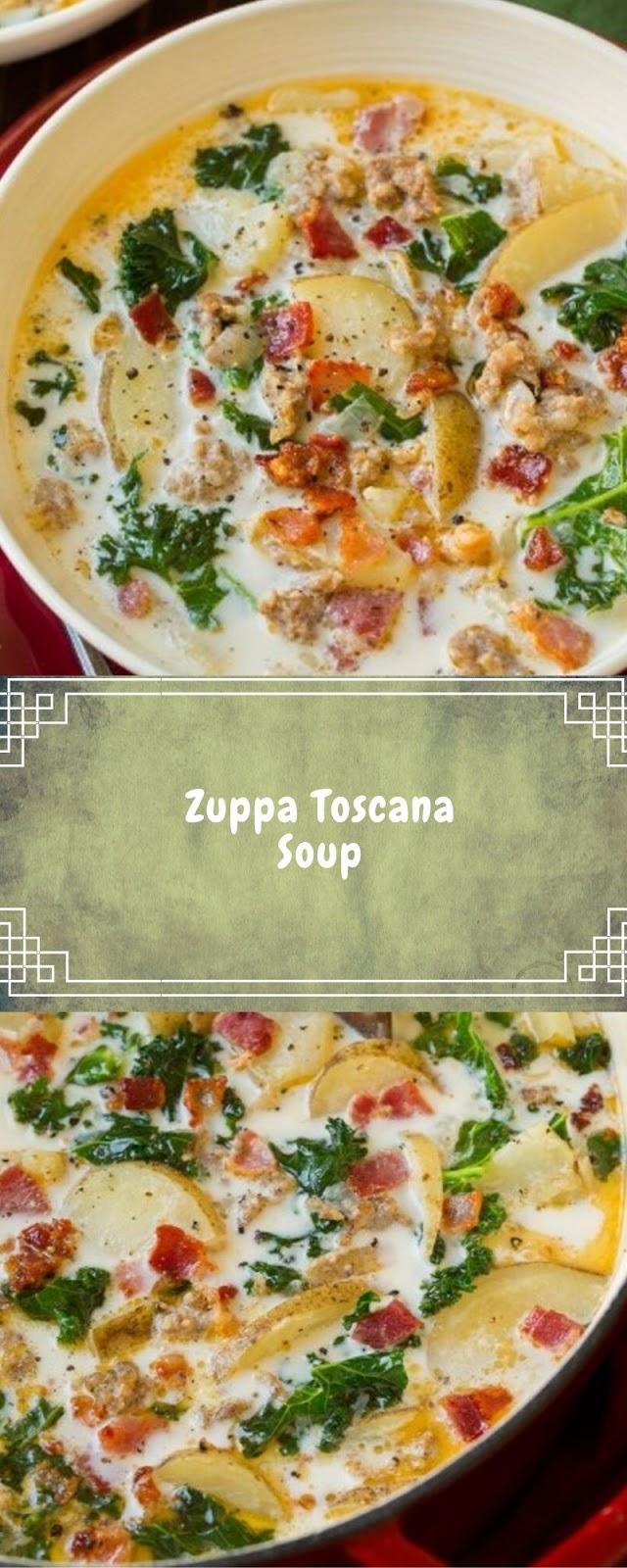 Zuppa Toscana Soup - Viral Food Recipes #zuppatoscanasoup