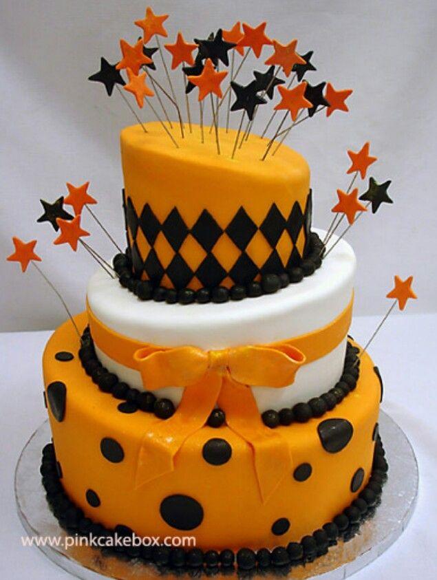 Halloween cake Cute idea for Kyndall\u0027s bday since she\u0027s a October - halloween birthday cake ideas