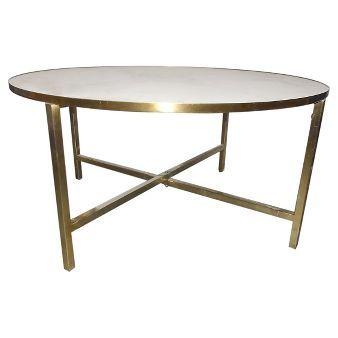 Marlton Round Coffee Table Threshold Coffee Table Round