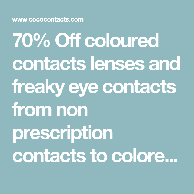 4458246e8b 70% Off coloured contacts lenses and freaky eye contacts from non  prescription contacts to colored contact lenses