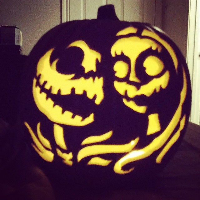 Now this is how you up your pumpkin carving game creative