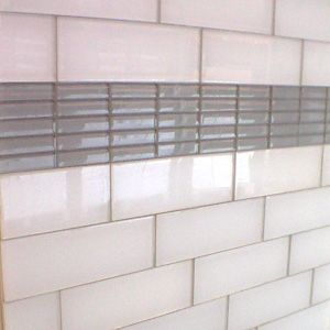 Staggered Subway Tile Layout Instead Of Straight Brick Pattern