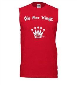 KingzKid We Are Kingz Sleeveless T-shirt