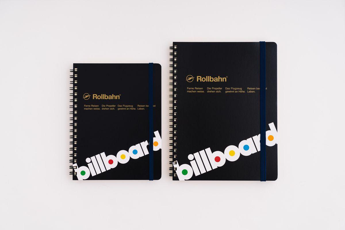 Billboard ロルバーン Rollbahn ノート