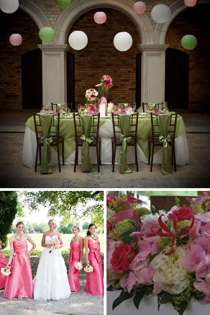 Raspberry Pink And Lime Green Wedding Theme Wedding Style Boards