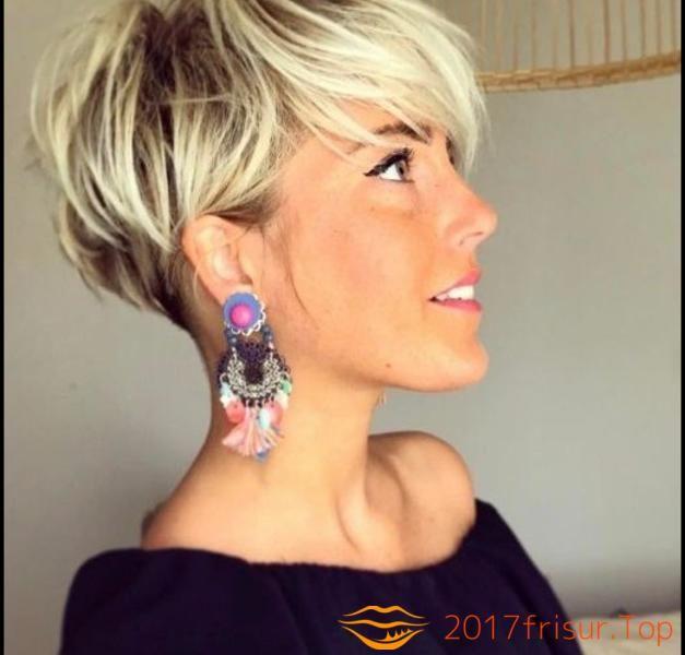 Trendfrisuren 2019 Damen Haarschnitte Und Frisuren Trends 2018 Part 5 Kurzhaarfrisuren Kurzhaarschnitte Haarschnitt Kurz