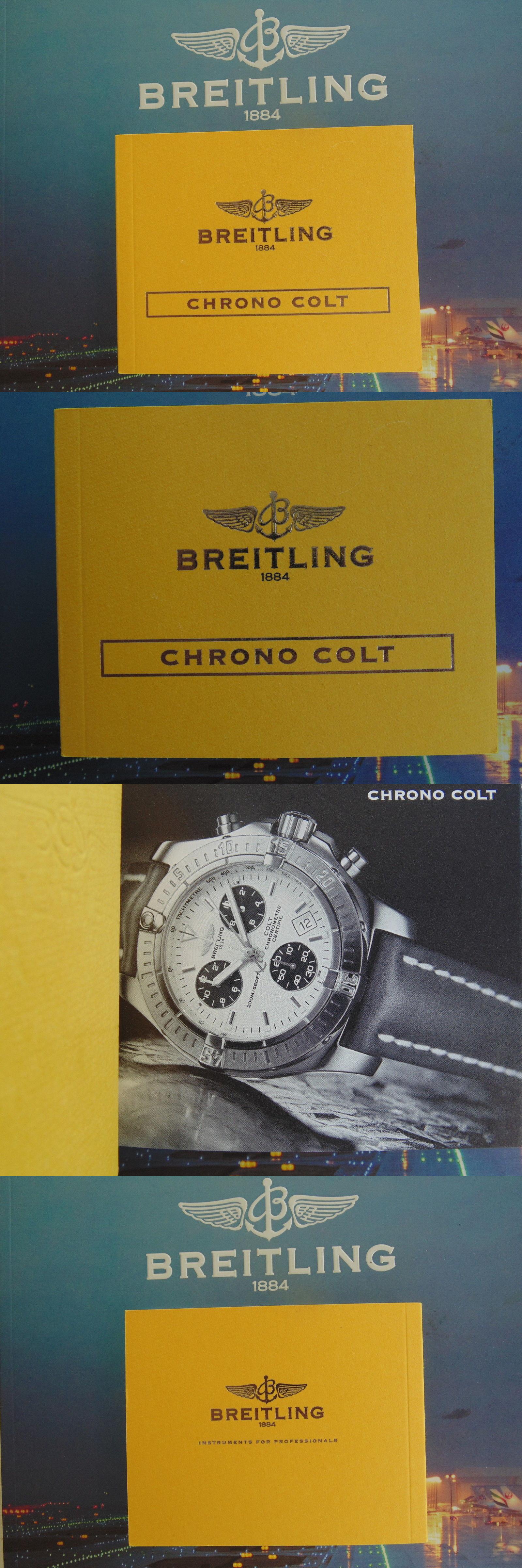 manuals and guides 93720 breitling colt 44 watch instruction rh pinterest com breitling colt user manual breitling colt automatic instruction manual