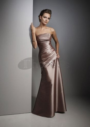 Bridesmaid Dresses-Strapless bridesmaid dress